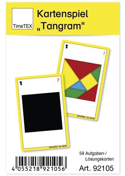 """Kartenspiel """"Tangram"""" in Etui"""