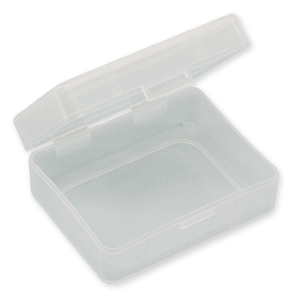 "Klappdeckel-Box ""compact"", 70 x 90 x 30 mm"