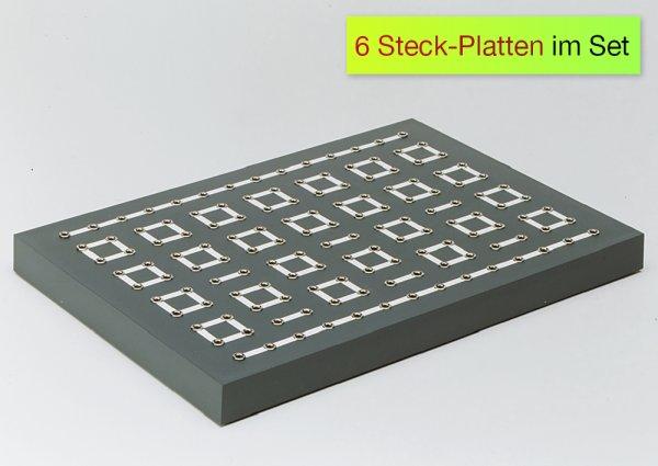 Universal-Steckplatte, 6 Stück