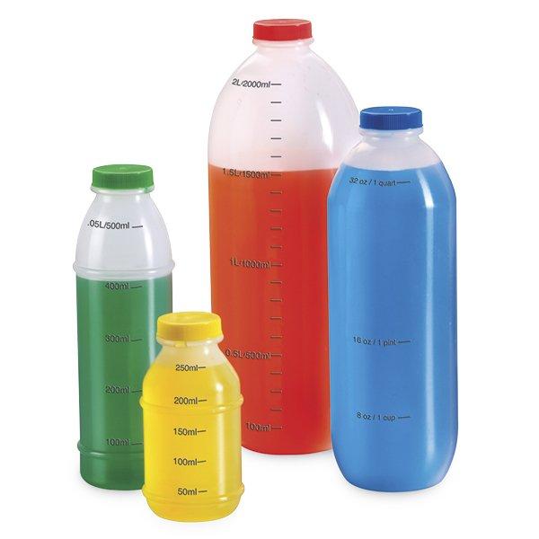 Mess-Flaschen-Set 250 – 2.000 ml, 4-tlg