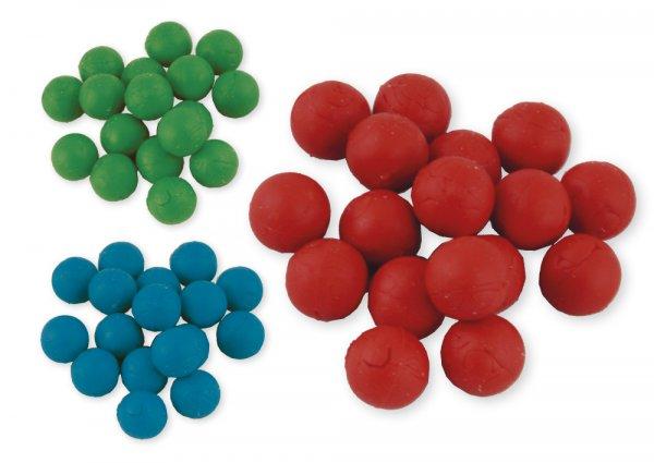 Flüster-Kugeln für Schüttelbox, 50 Stück