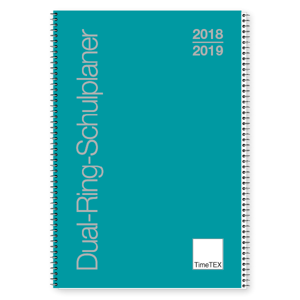 Dual-Ring-Schulplaner A5 2018/2019