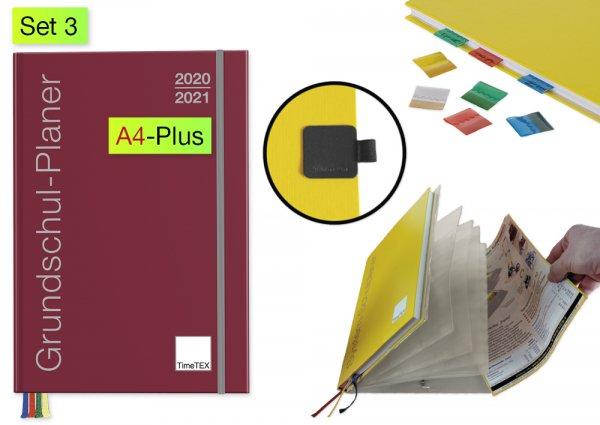 Grundschul-Planer-Set 2020/2021 A4-Plus