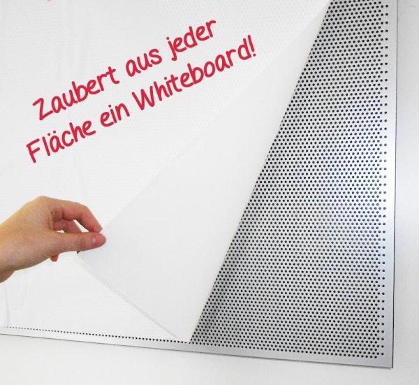 Whiteboard-Folie statisch, 20 m auf Rolle, weiß matt