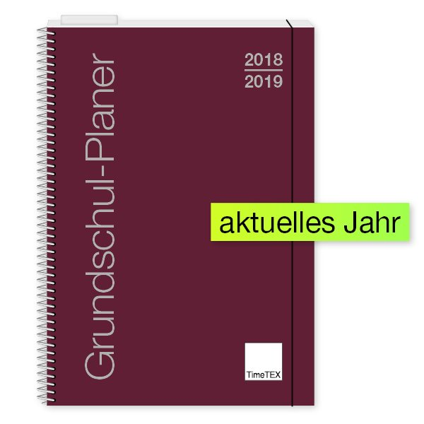 TimeTEX Grundschul-Planer Ringbindung A4 2018/2019