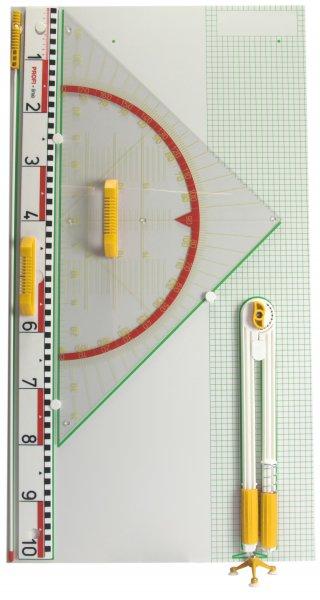 Wandtafel-Gerätesatz Profi 5-tlg., magnetisch