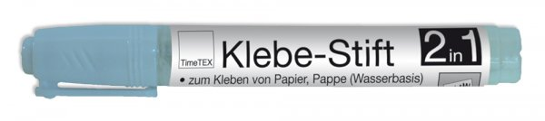 TimeTEX Klebe-Stift, 2 in 1