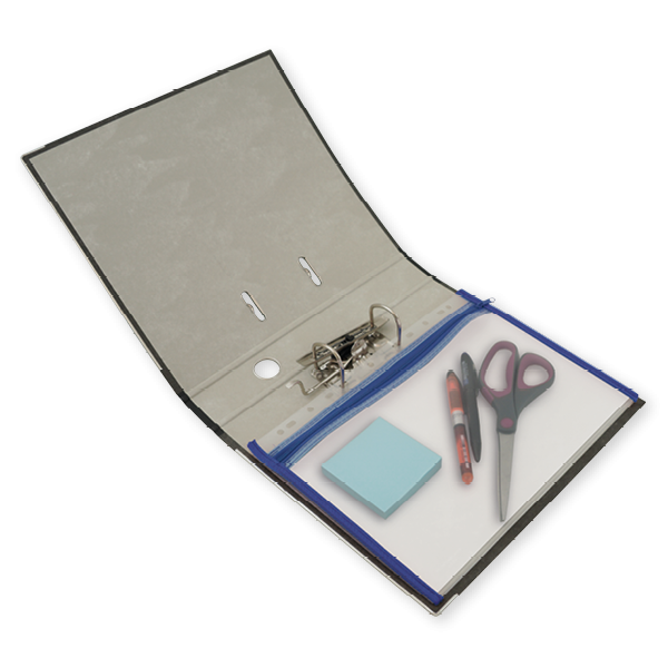 Reißverschluss-Tasche A5 zum Abheften