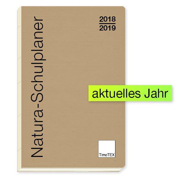 TimeTEX Natura-Schulplaner A4-Plus 2018/2019