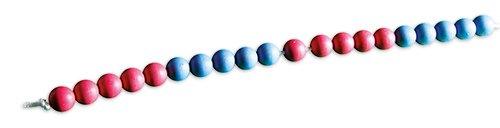Demo-Rechenkette bis 20, rot/blau, 5er-Wechsel