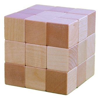 Soma-Holz-Würfel 60x60 mm, Btl.7 Würfelfiguren