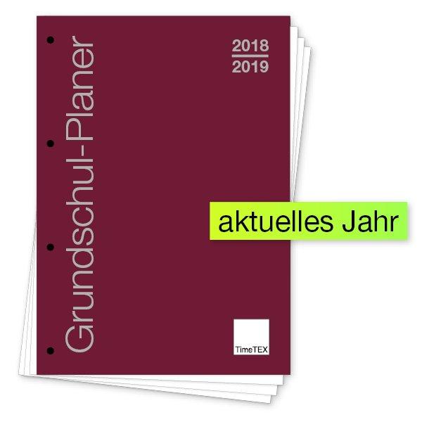 """TimeTEX Grundschul-Planer """"lose Blatteinlage"""", A4 2018/2019"""