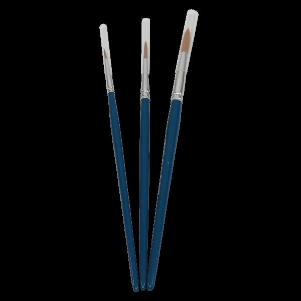Aquarellpinsel-Set 3-tlg.