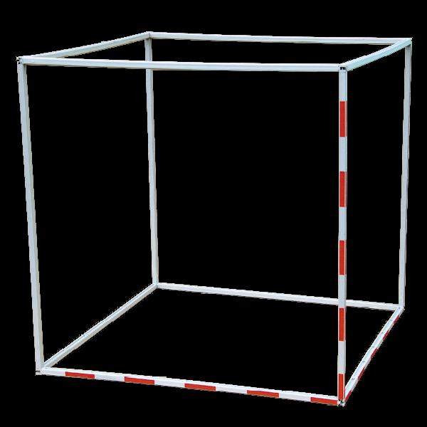 Kubikmeter-Modell aus Profilstäben, 100 cm Seitenlänge, 12-tlg.