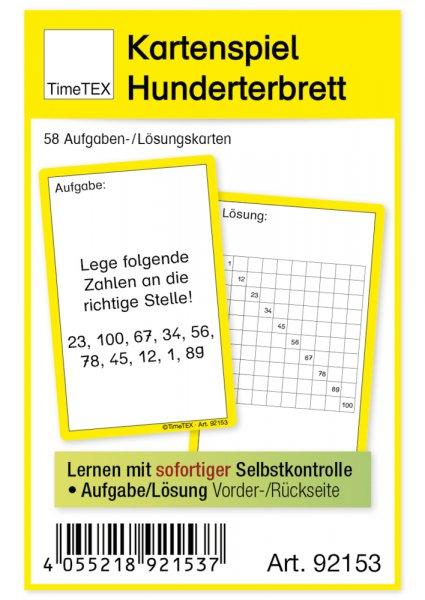 """Kartenspiel """"Hunderter-Brett"""", 60-tlg."""