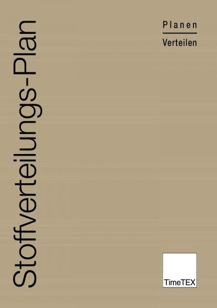 TimeTEX Heft Stoffverteilungs-Plan A4