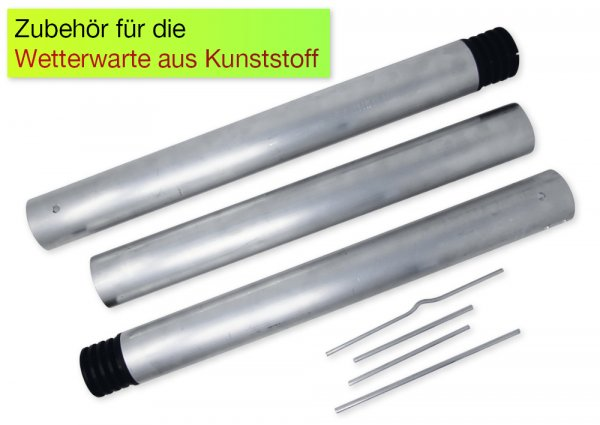 Wetterwarten-Ständer, Aluminium, 150 cm