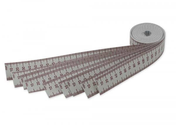 Maßband-Set 100 cm, 3 cm breit, 10 Stück