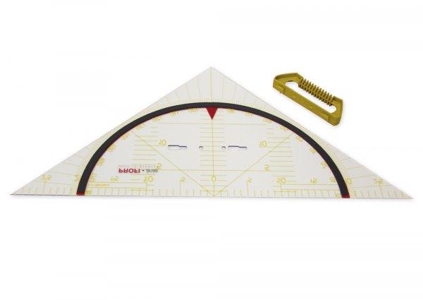 Profi-Geometrie-Dreieck 60 cm, magnetisch, mit Griff