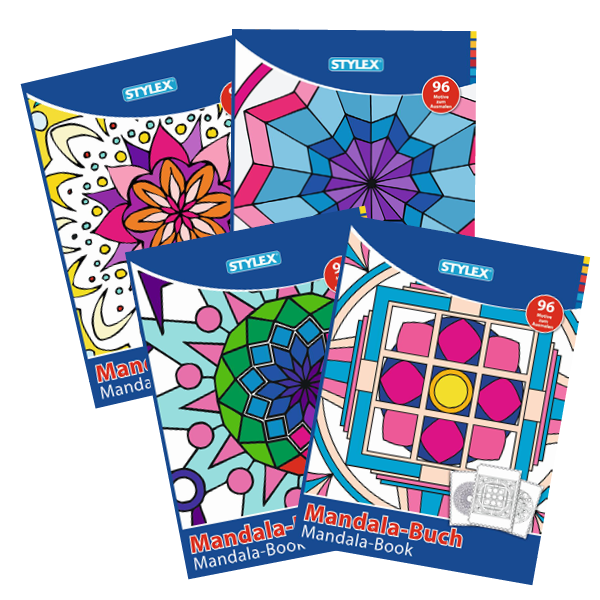 Mandala Malbuch für Erwachsene, 96 Motive