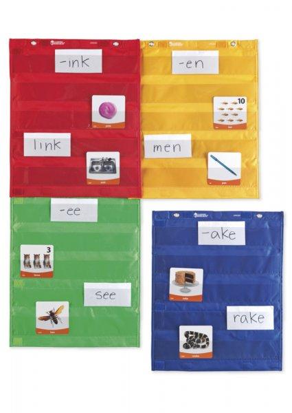 Set Taschen-Vorhänge, magnetisch, 4-tlg.