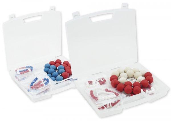 Klassensatz Rechenketten bis 20, 25-tlg. in Koffer, rot/weiß, 5er-Wechsel