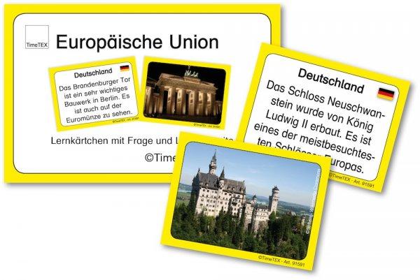 Kartenspiel für Papp-Computer, Europäische Union