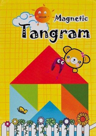 Magnet-Tangram 12 x 12 cm, 7-tlg., II./SO