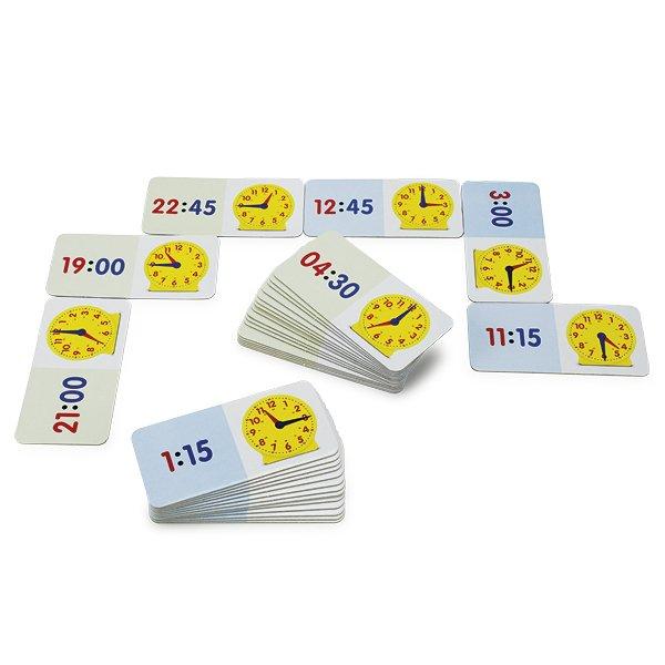 Zeit-Domino 1-24 Uhr, 36-tlg.