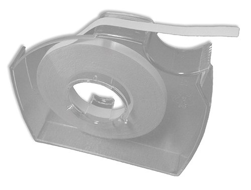 Text-Abdeckband weiß, abziehbar, 4,2mm/17,7m