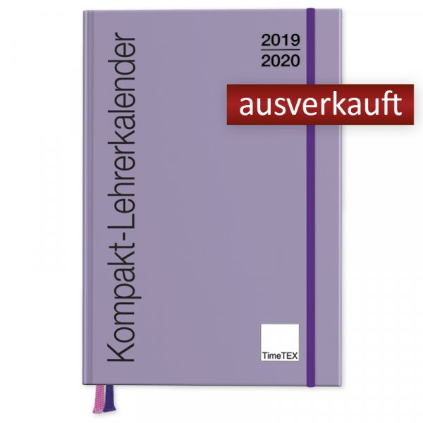 TimeTEX Kompakt-Lehrerkalender A5-Plus 2019/2020