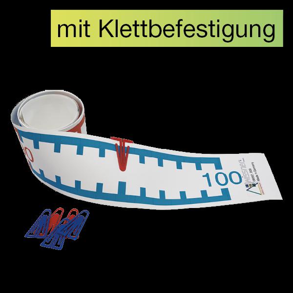 Demo-Zahlenstrahl-Rechenband mit Klettpunkten, 3 m, 1-100