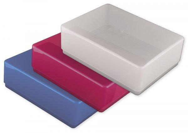 Kunststoff-Box A6 farbig