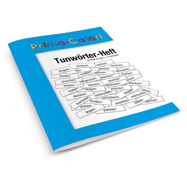 Prima-Colori Tunwörter-Heft, 24 Seiten