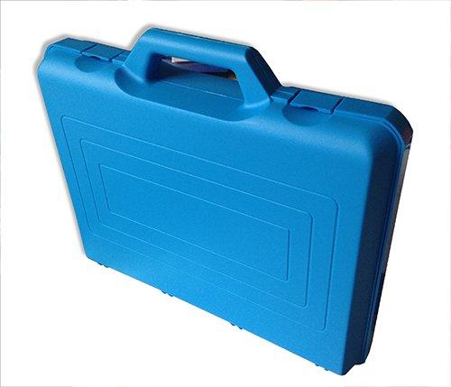 Kunststoff-Koffer leer, ca. 37x31x8 cm