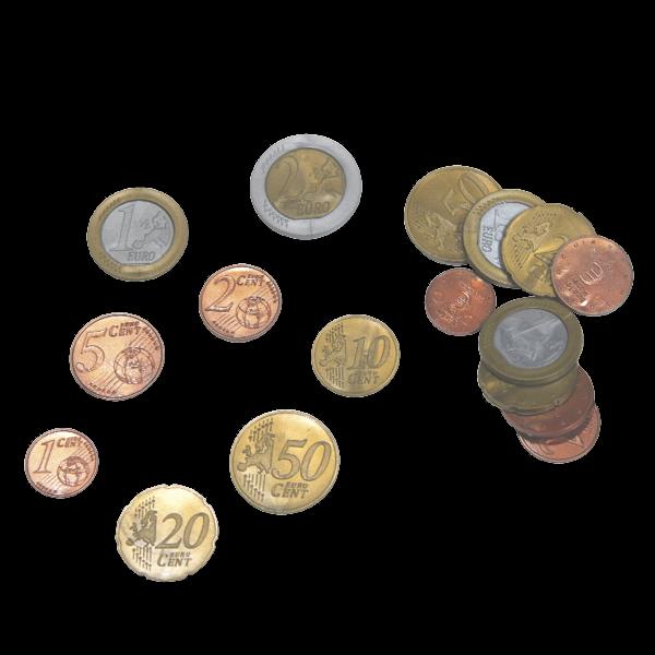 Set Euro-Rechengeld, Münzen, 700-tlg.