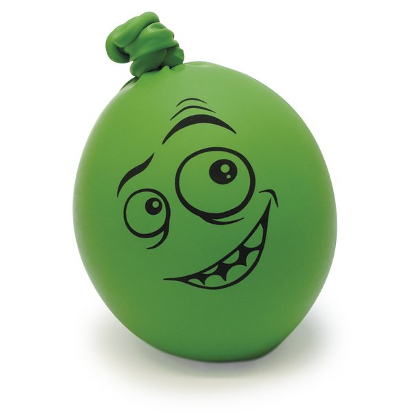 "Knetball ""lachendes Gesicht"", ca. 75 mm ø"