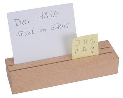 Setzleiste aus Buchenholz, 25 cm