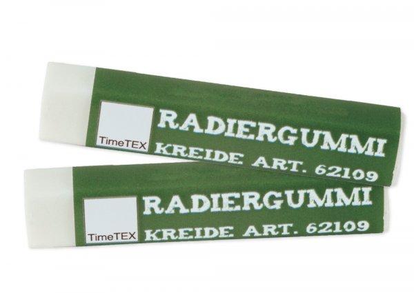 """Radiergummi """"Kreide-Optik"""", 2 Stck."""