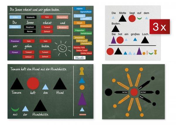 """Set Wortarten + Satzaufbau """"Montessori"""", 3.798-tlg."""