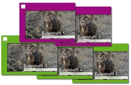 Set Eulenhefte 1-5