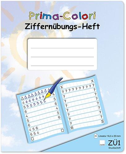 Prima-Colori Ziffernübungs-Heft ZÜ1