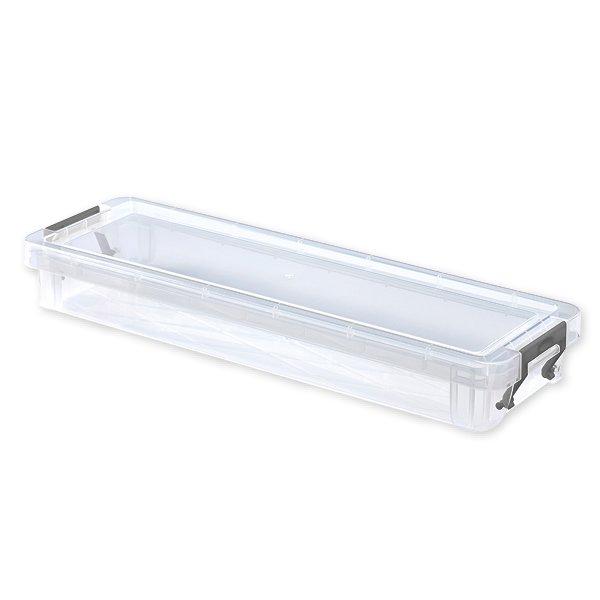 Kunststoff-Box stapelbar, transparent, 1,25 Liter