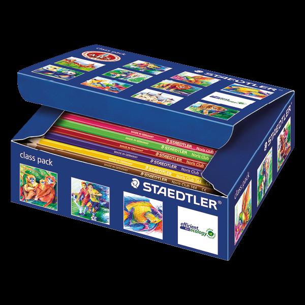 STAEDTLER® Noris Club Farbstifte in Schulbox 144-tlg.