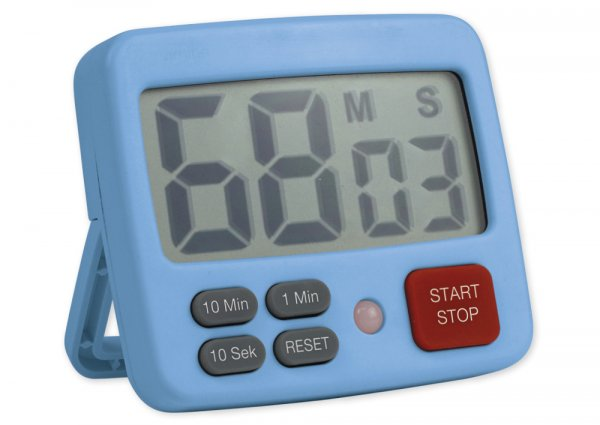 """Zeitdauer-Uhr """"Digital 3+X"""", 3 Fixzeiten"""