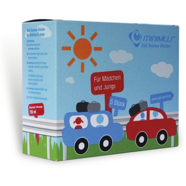 "Mobiles Örtchen ""Pipybox"", Unisex, 5 Stück"