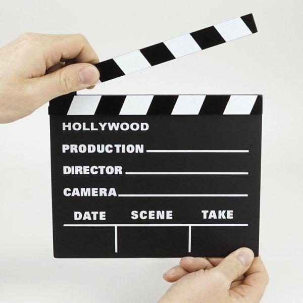 Sprech-Start-Filmklappe