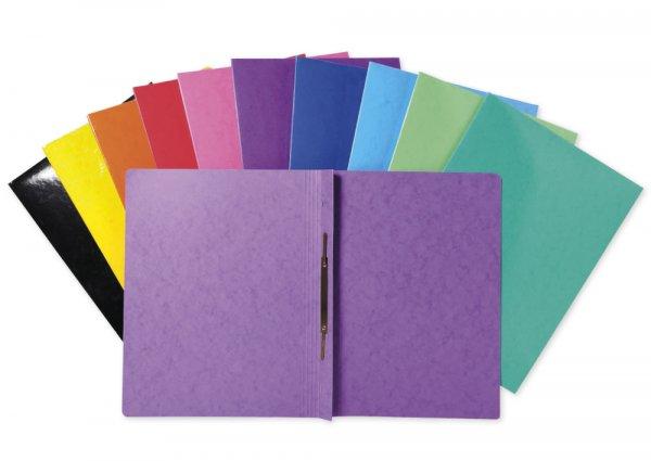 Set Schnellhefter aus Pappe A4-Plus, 25 Stück, farbig