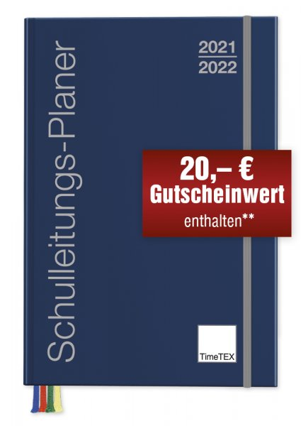 TimeTEX Schulleitungs-Planer A4-Plus, 2021/2022
