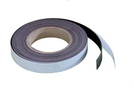 Magnet-Streifen selbstklebend, 10 mm, 10 m